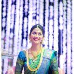 Pranathi Reddy in Green Kanjivaram Saree