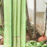 Pista Green Banarasi Silk Saree from Lakshmi.co