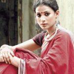 Red Malkha Silk Saree