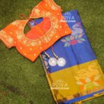 Customised Designer Blouses from Priva Collective
