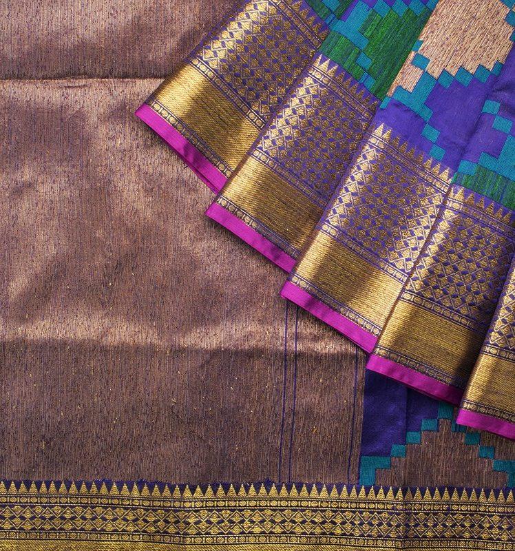 tussar benarasi silk sarees from parisera