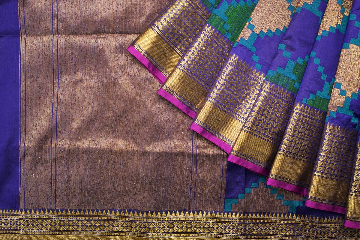 tussar benarasi silk saree from parisera